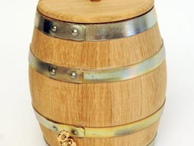 Custom Barrel with Lid