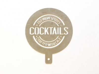 circular bar stencil