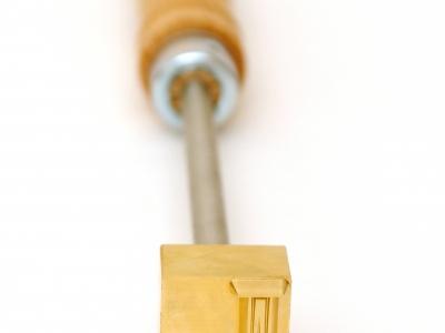 heat stamp - manual brander for orange peels